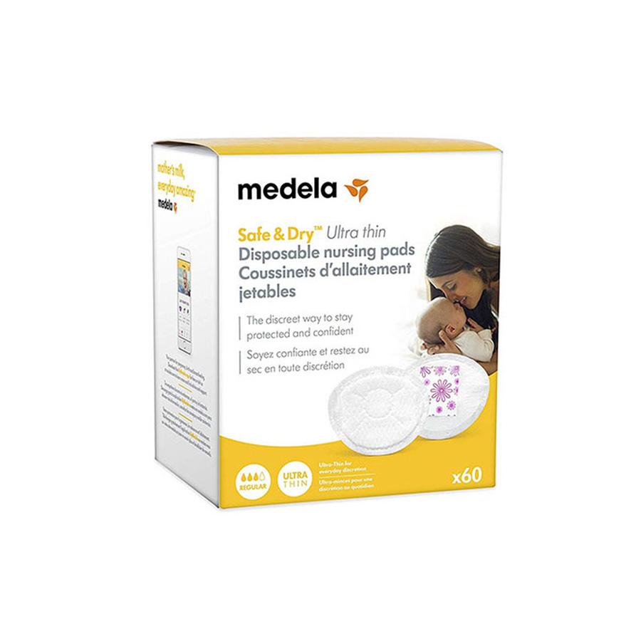 Coussinets d'allaitement jetables 60 pcs