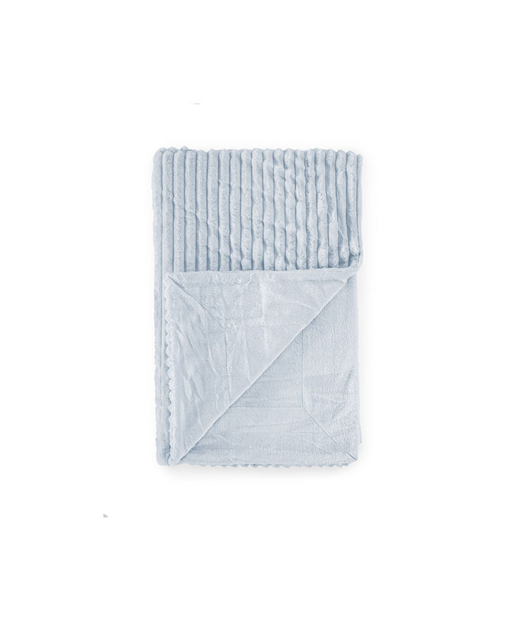couverture 100% polyester Bleu 80*110 cm
