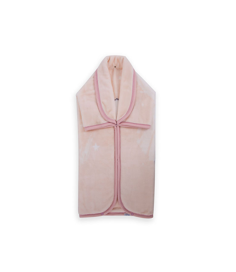 Couverture Ours polaire Rose
