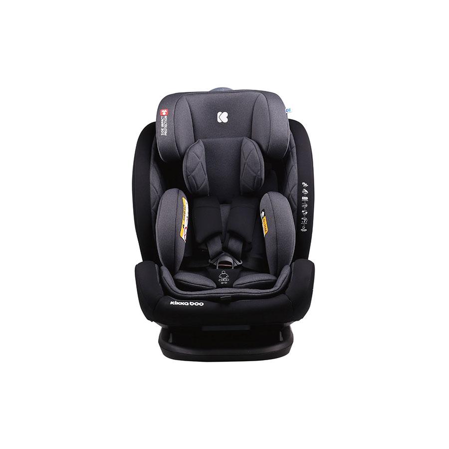 Siège d'auto 0-1-2-3 (0-36 kg) Multistage Noir