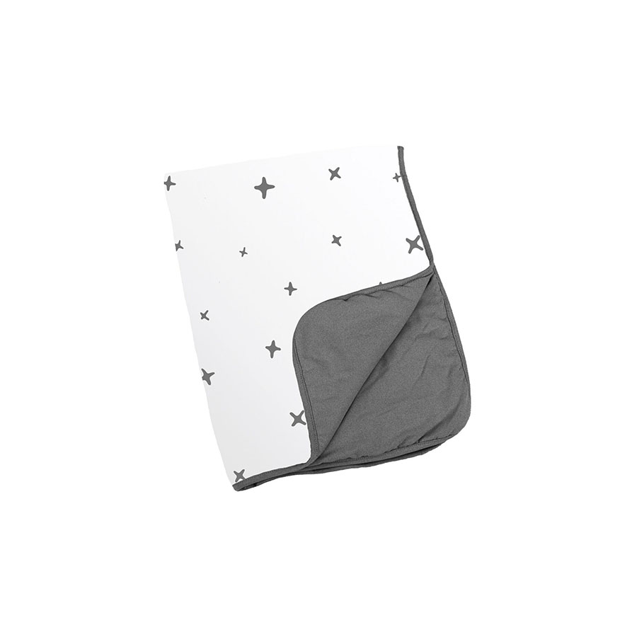 Couverture dream stars anthracite 75×100