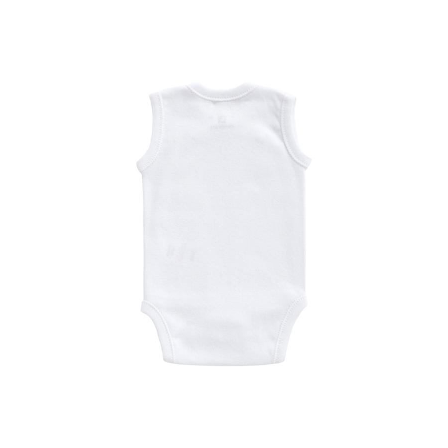 BODY SANS MANCHE CROISE Blanc Taille 0M+