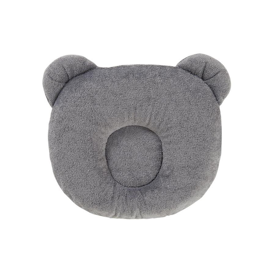Coussin cale tête bébé P'tit panda gris