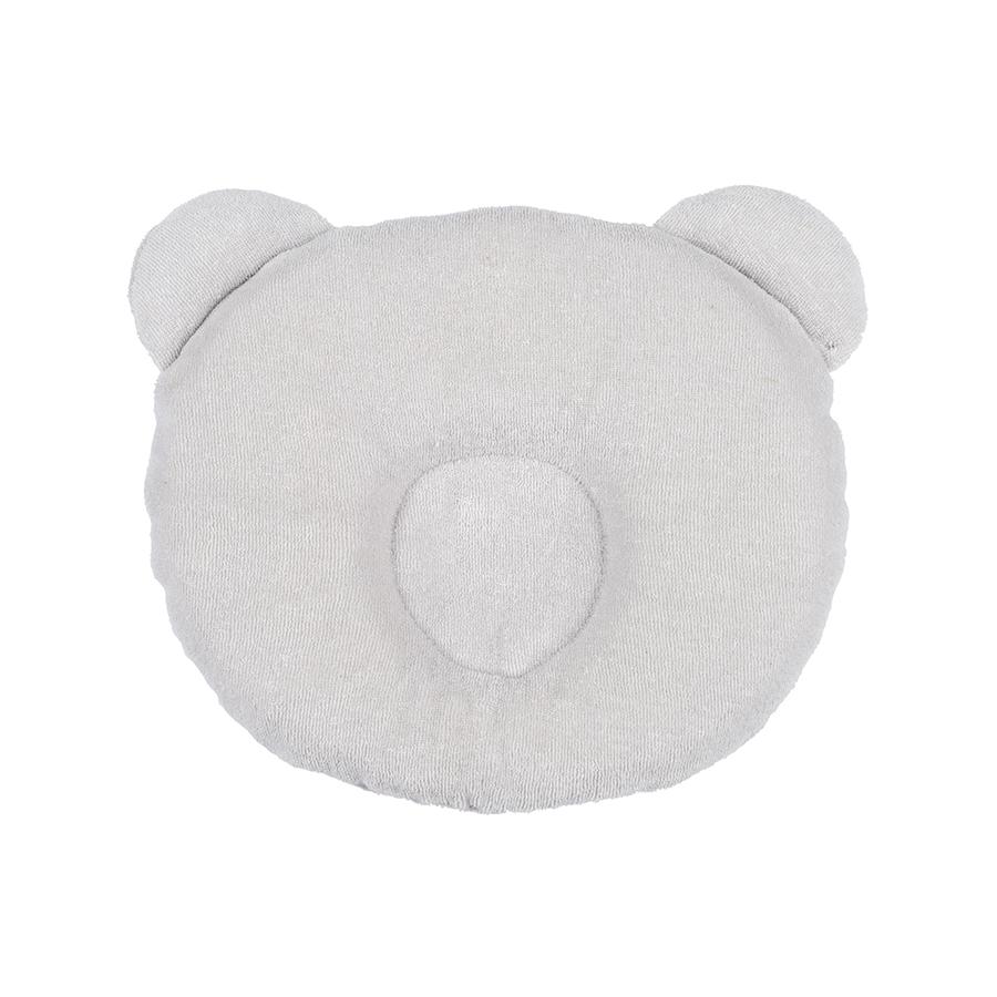 Coussin cale tête bébé P'tit Panda Gris clair