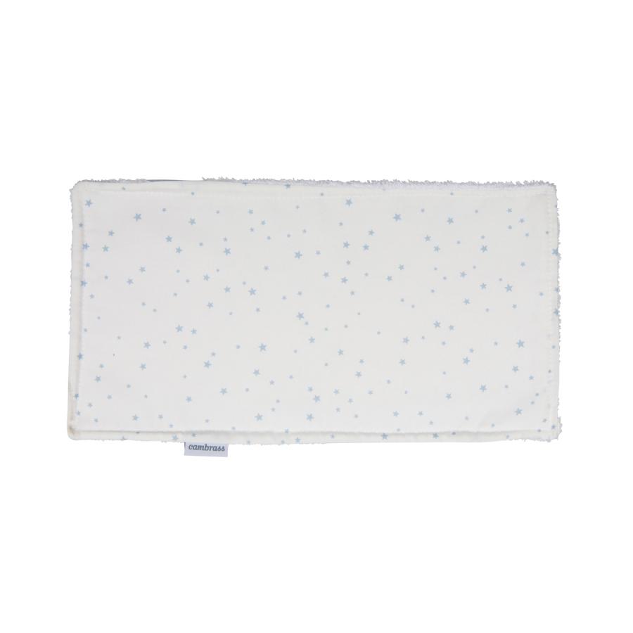 Petite serviette / bavette astra bleu/star 29.5×15.5 cm