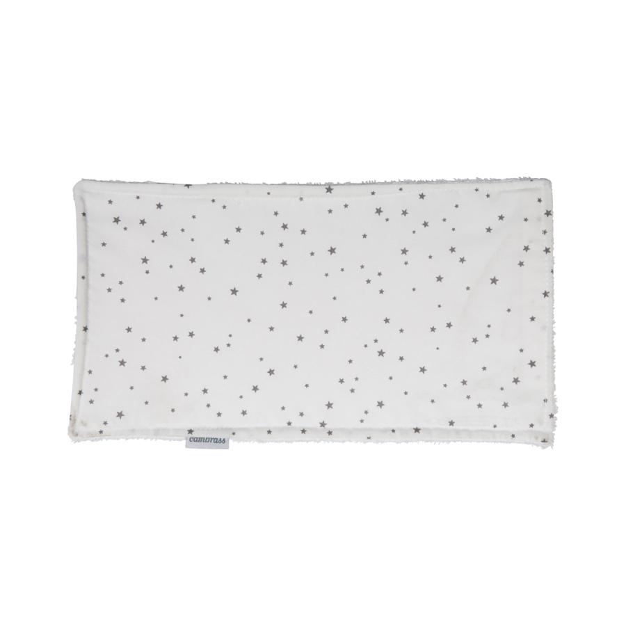 Petite serviette / bavette astra gris/star 29.5×15.5 cm