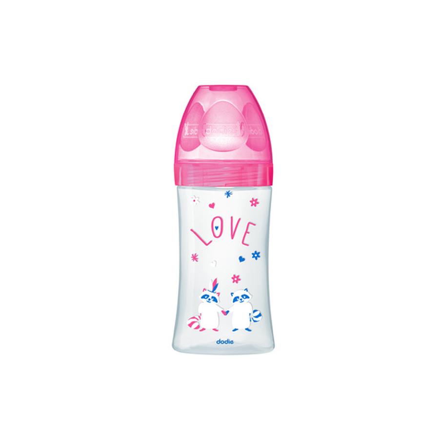 Biberon sensation+ rose love 270ml