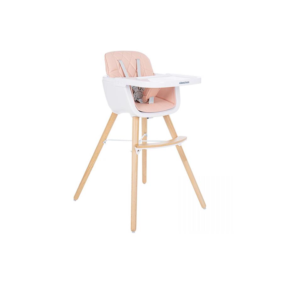 Chaise haute en bois Woody Rose