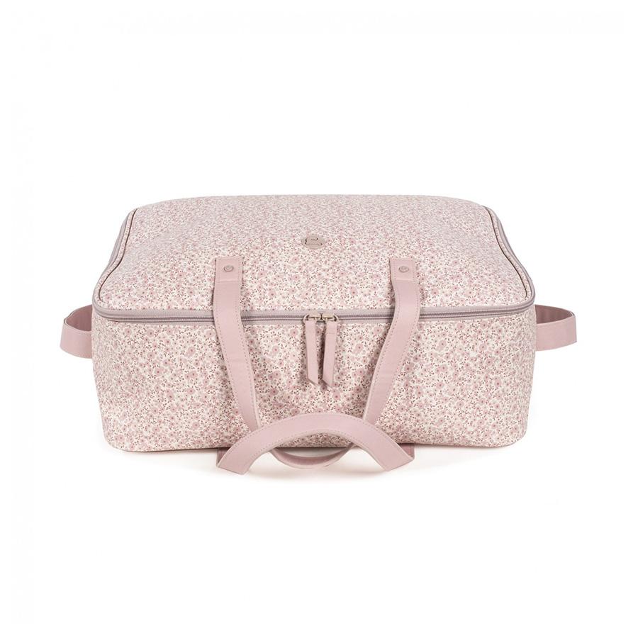Valise de maternité flower mellow Pink