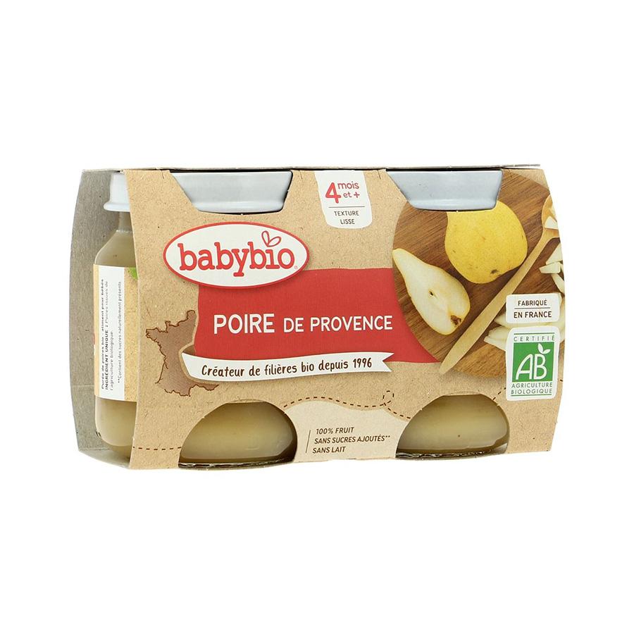 Babybio – Pot poire de Provence 2*130gr
