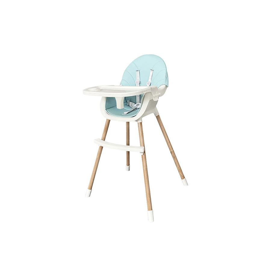 Chaise haute Nutri Bleu