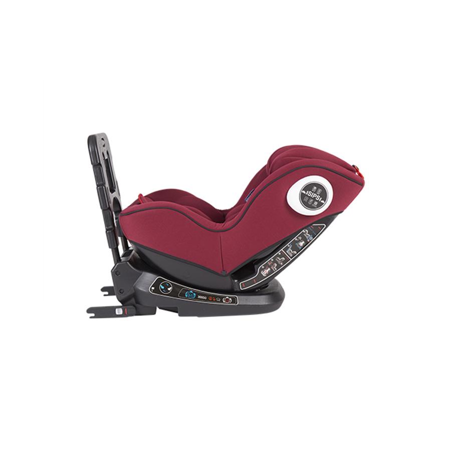 Siège auto 0-1-2 (0-25 kg) Twister ISOFIX rouge