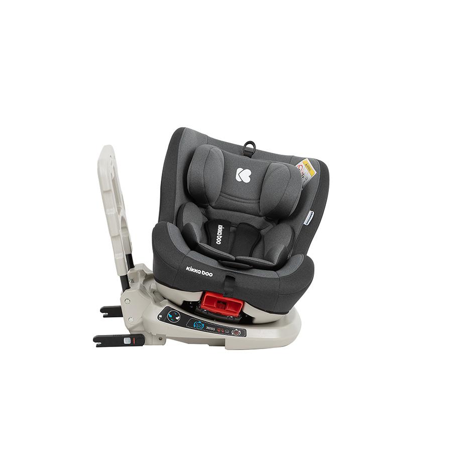 Siège auto 0-1-2 (0-25kg) Twister Gris Isofix 360°