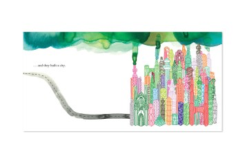 a forest by marc martin illustrated childrens book city