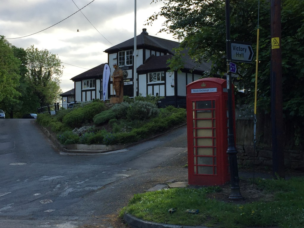 Decommissioned telephone boxes in the village of Mobberley in Cheshire have been converted to book exchanges and an information point