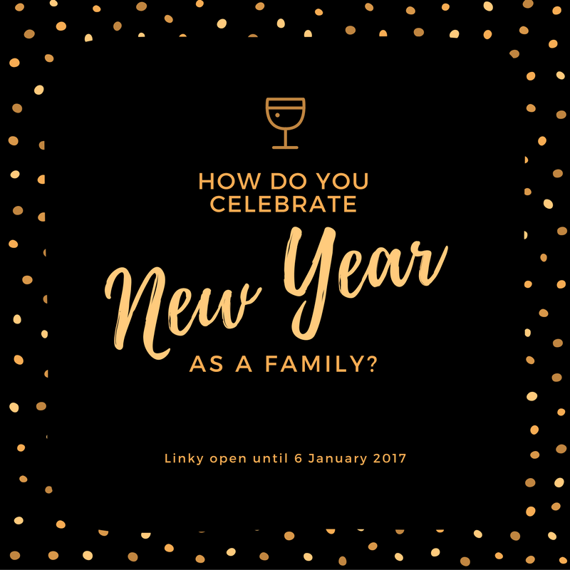 celebrating new year as a family