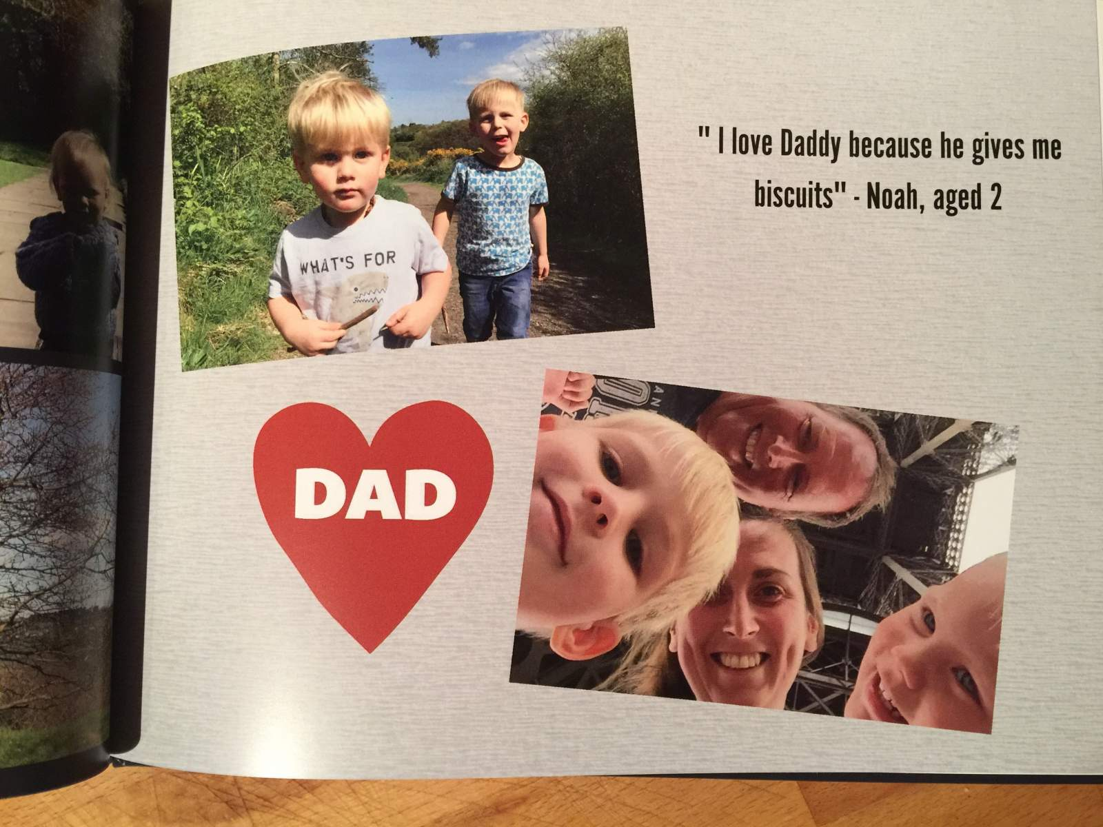 snapfish photo book review fathers day