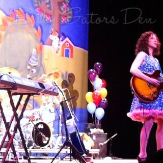 Laurie Berkner Band concert!
