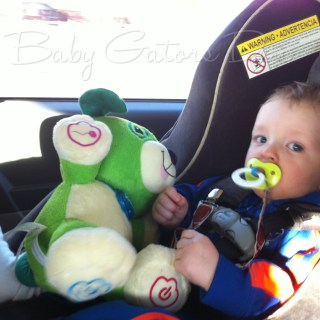 How to fly cross-country with a toddler
