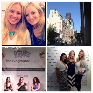Blographer, NYC & #BlogHer12