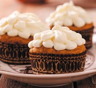 Pumpkin Cupcakes – Yum!