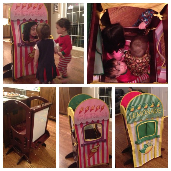Playhouse Kits for the Learning Tower let imaginations run wild!