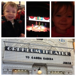 We got our sillies out at YO GABBA GABBA LIVE!