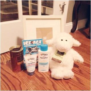 Protecting sensitive skin with Aquaphor {giveaway}