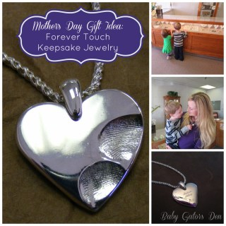 Forever Touch Keepsake Jewelry {giveaway}