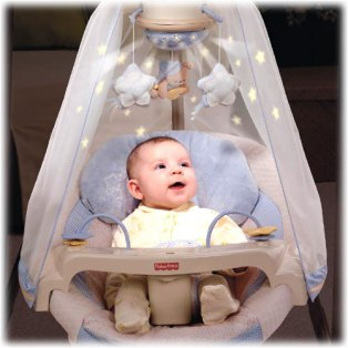 best baby swings with ac adapter