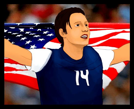 Abby Wambach--A True Champion