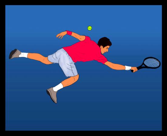 Novak Djokovic Plays Tennis With Willpower