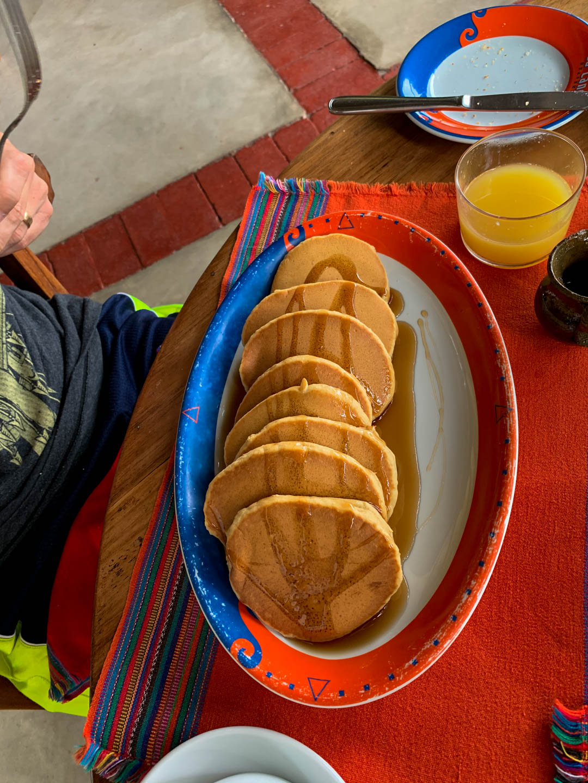 La Lancha review pancake breakfast