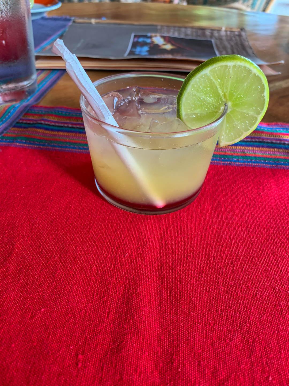 La Lancha welcome drink