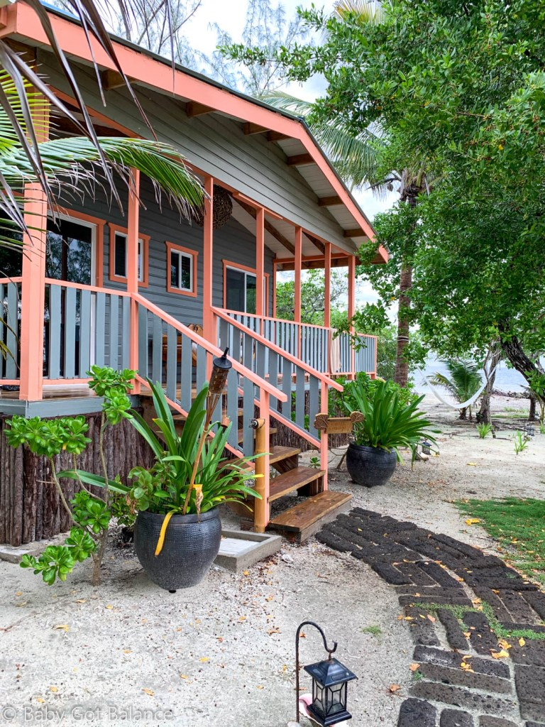 Coral Cottage on Coral Caye