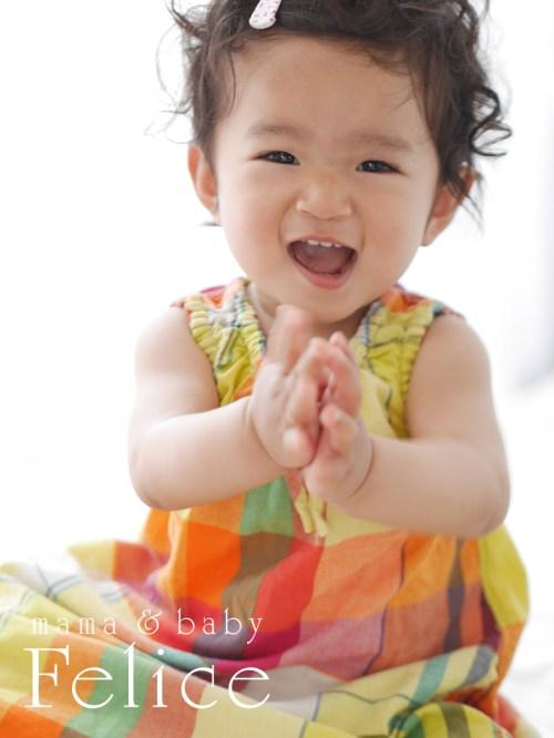 1歳女の子バースデー