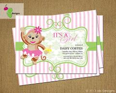 baby shower invite photo