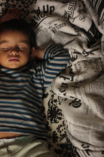 baby sleep pattern photo