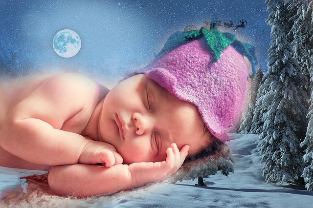 child sleep photo