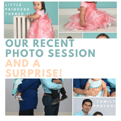 Our recent photo session and a surprise by Baby Henry Likes
