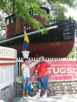Out and About in Connecticut - 8 of my favorite places - Mystic Seaport and Aquarium - by Baby Henry Likes
