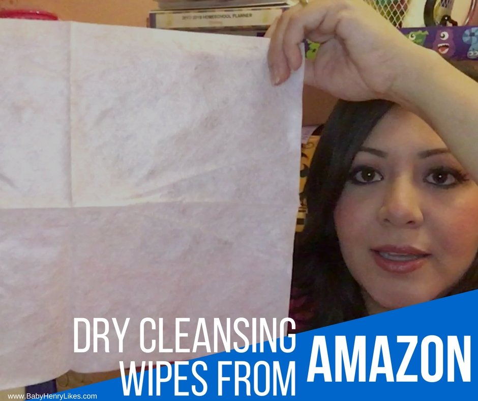 Dry Cleansing Wipes from amazon by Baby Henry Likes on www.BabyHenryLikes.com