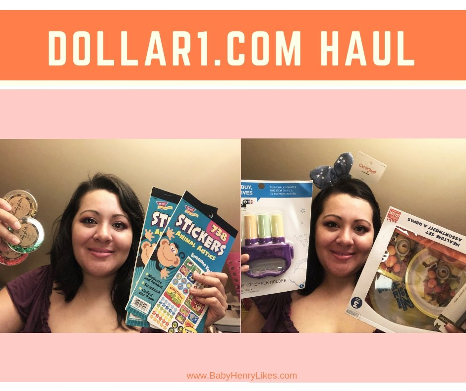 Dollar1.com Haul - A new post by Jacqueline at www.BabyHenryLikes.com