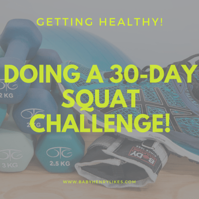 Doing a 30-Day Squat Challenge!
