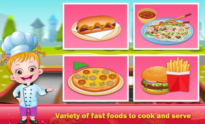 Barbie Restaurant Games Play