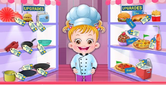 Barbie Restaurant Job Games
