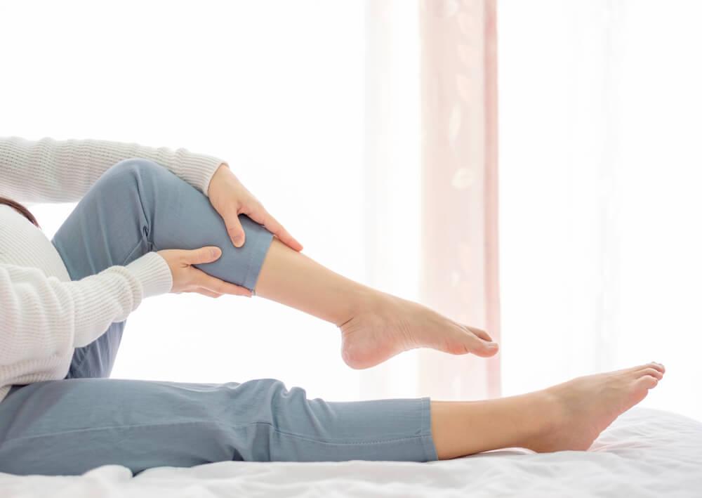 Aliviar cãibras para grávidas