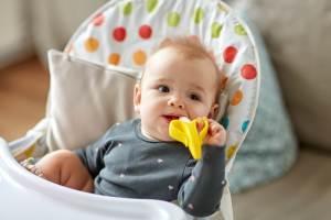 Por que o bebê baba muito