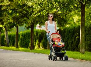 Primeiro passeio do bebê