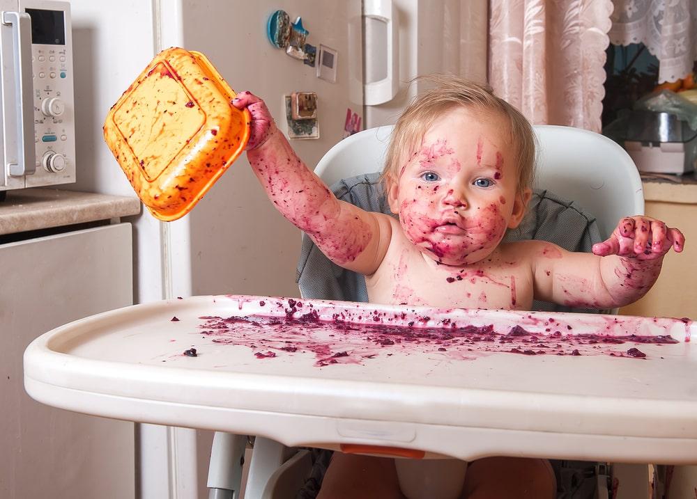 Método BLW de alimentação para o bebê